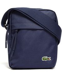Lacoste - Navy Small Format Fabric Shoulder Bag - Lyst