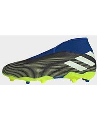 adidas Chaussure Nemeziz.3 Laceless Terrain souple - Multicolore
