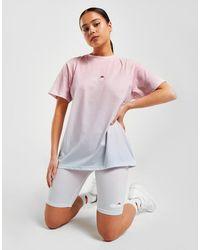 Ellesse Fade Logo T-shirt - Pink