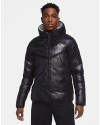 Nike Sportswear Synthetic-fill Windrunner Men's Repel Jacket - Black