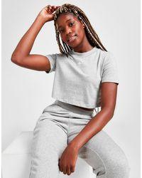 adidas Originals Essential Crop T-shirt - Grey