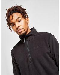 Peter Storm 1/2 Zip Fleece Sweatshirt - Black