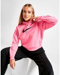 Nike Sportswear Swoosh Hoodie (pink Glow) - Clearance Sale