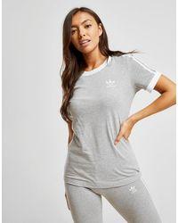 adidas Originals 3-stripes California T-shirt - Gray