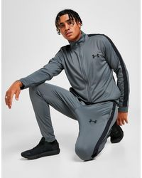 Under Armour Poly Tracksuit - Grey