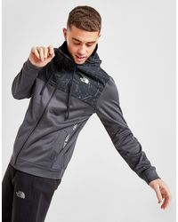 The North Face Train N Logo Full Zip Hooded Jacket - Gray