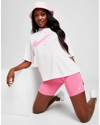 Nike Swoosh Short Sleeve T-shirt - Pink