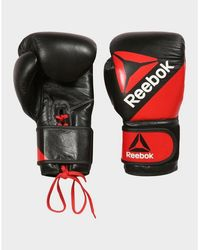 Reebok Leather Training Glove 16oz - Red