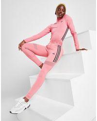 adidas 3-stripes Mesh Tights - Pink