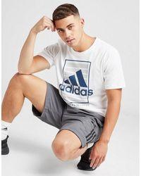 adidas Badge Of Sport Cargo Shorts - Gray