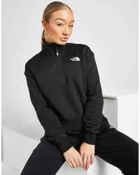 The North Face - Mesh 1/4 Zip Sweatshirt - Lyst