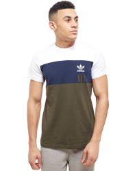 Lyst Adidas Originals Adidas Lyst Color Originals Block camiseta en azul para hombre e62294e - rspr.host