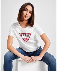 Guess Icon Logo T-shirt - White