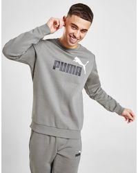 PUMA Core Logo Crew Sweatshirt - Grey