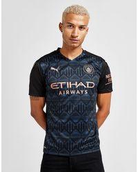 PUMA Manchester City Fc 2020/21 Away Shirt - Black