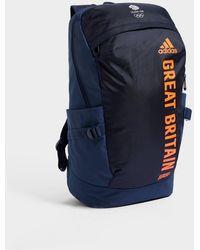 adidas Team Gb Olympics Backpack - Blue