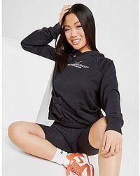Nike Swoosh Utility Hoodie Damen - Schwarz