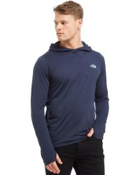 The North Face - Reactor Over The Head Hoodie - Lyst