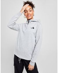 The North Face Airolo 1/4 Zip Hoodie - Gray