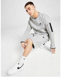 Nike - Tech Fleece Shorts Herren - Lyst