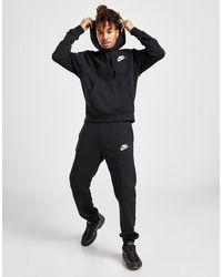 Nike Fleece Overhead Tracksuit - Black