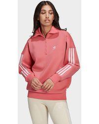 adidas Originals - Half-zip Sweatshirt - Lyst