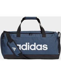 adidas Essentials Logo Duffel Bag Medium - Blue