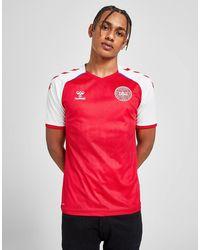Hummel Denmark 2020/21 Home Shirt - Red