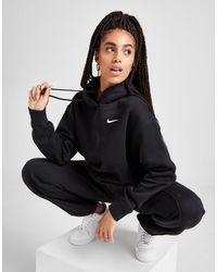 Nike Fleece Overhead Hoodie - Black