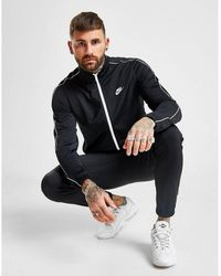 Nike Poly Tracksuit - Black