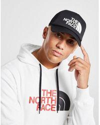 The North Face North Face Tnf Logo Trucker Cap - Black