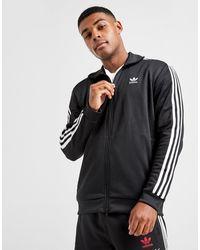 adidas Originals Beckenbauer Full Zip Track Top - Black