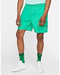 Nike Jordan Jumpman Poolside-Shorts für Herren - Grün