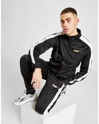 PUMA Suede Track Trousers - Black