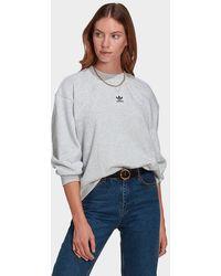 adidas Originals Loungewear Adicolor Essentials Sweatshirt - Grey