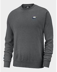 Nike Foundation Crew Sweatshirt Herren - Grau