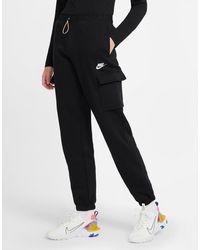 Nike Sportswear Fleece Cargo Pants - Black