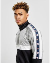 Top Poly Homme Track Gris Tape ybvf6gI7Y