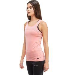 Nike Pro Hypercool Tank Top - Pink