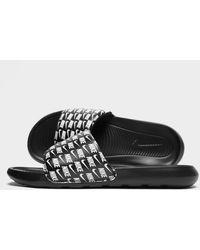 Nike Victori One Slides - Black