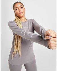 adidas Originals Repeat Linear Maglia a maniche lunghe Donna - Multicolore