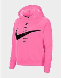 Nike Sportswear Swoosh Hoodie Damen - Pink