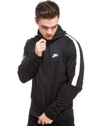 Nike - Tribute Full Zip Poly Hoody - Lyst