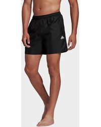 adidas Solid Swim Shorts - Black