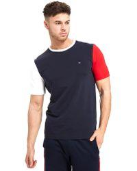 Tommy Hilfiger - Short Sleeve Colourblock T-shirt - Lyst