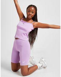 Nike Core Cycle Shorts - Purple