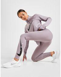 Nike Running Swoosh Tights - Purple