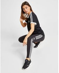 adidas Originals 3-stripes Mesh California T-shirt - Black