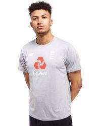 New Balance - Ecb Training Cotton T-shirt - Lyst