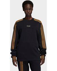 adidas X Ivy Park Long Sleeve Crewneck Sweatshirt (gender Neutral) - Black